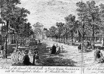 Vauxhall Grand Walk 1791