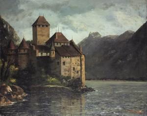758px-Gustave_Courbet_-_Le_château_de_Chillon