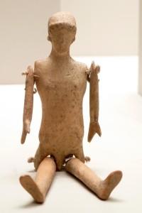 Doll (Greek, 500-400 BC) - Terracotta