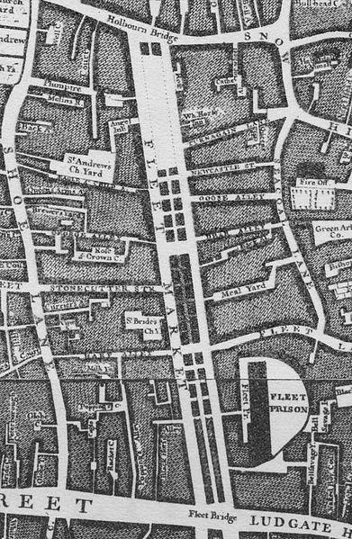 1746 Fleet Market Map (Roque)