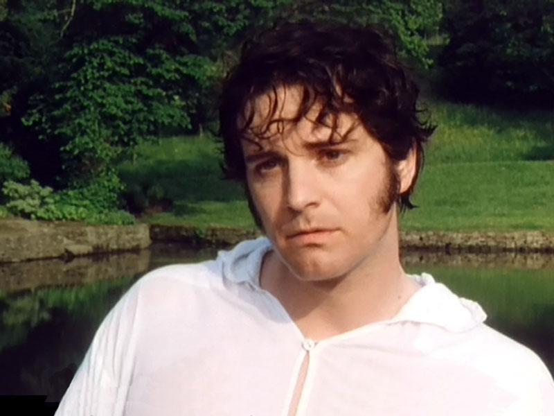 Young Colin Firth Colin Firth mr