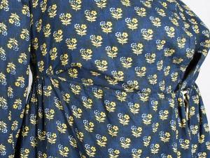 drawstring dress 1800 1810 detail