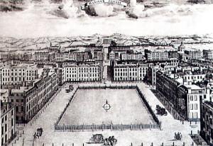 Hanover Square 1754