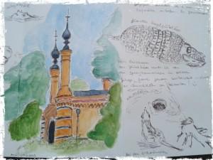 Sandy's Sketch of the Berlin Zoo
