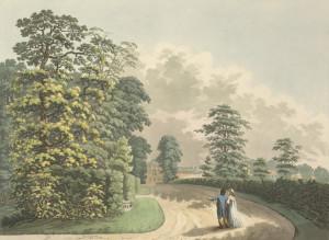 Kensington Gardens, 1798