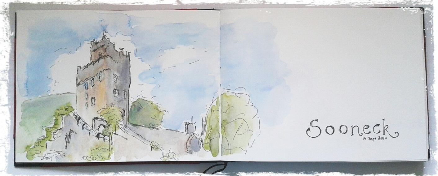 A sketch of Castle Sooneck