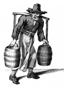 water-seller cries