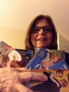 Diane_Selfie_Many_Books