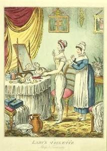 1810 2nd verision gilray drawers