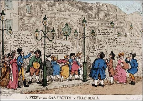 Rowlamdson -Pall Mall Lights