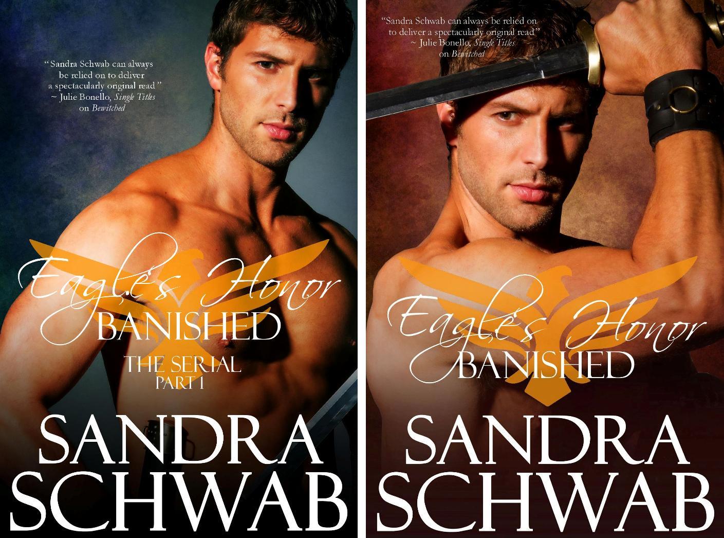 covers of Sandra Schwab's Eagle's Honor: Banished