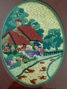 Needlework cottage
