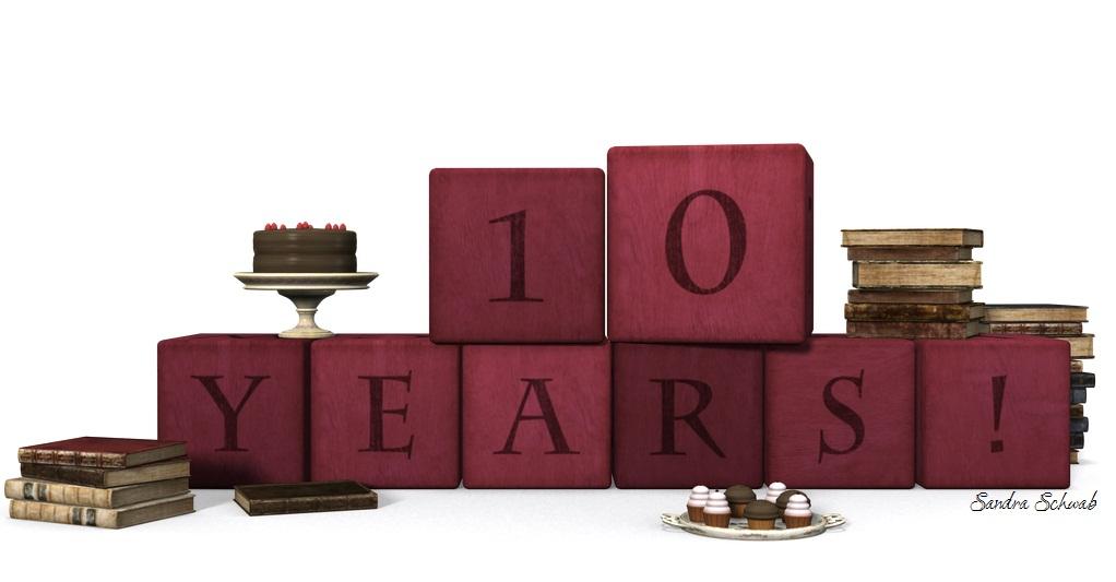 Celebrating Sandy's 10th blogiversary