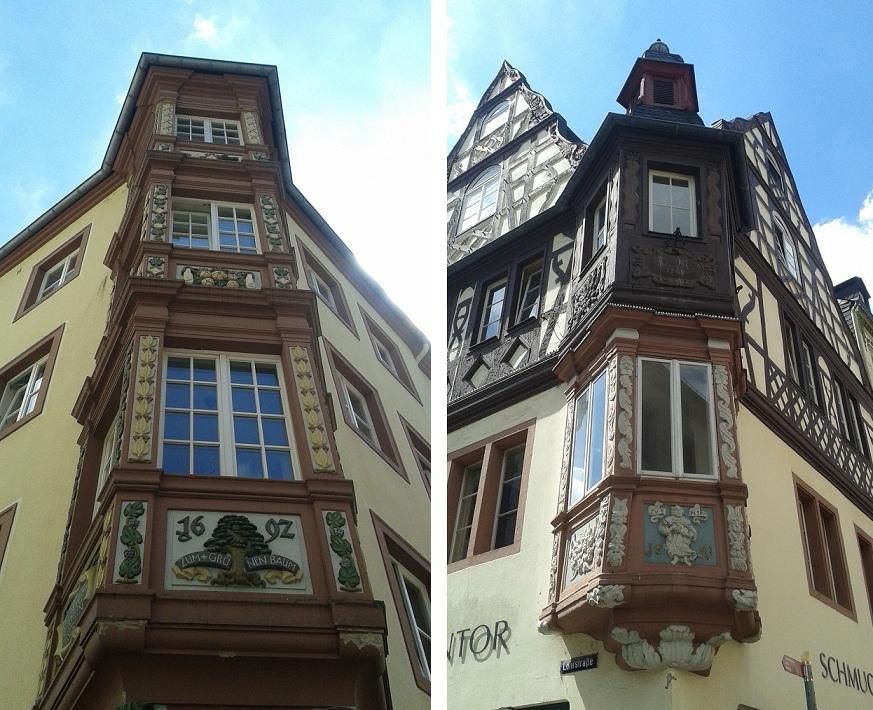 pretty houses in Koblenz