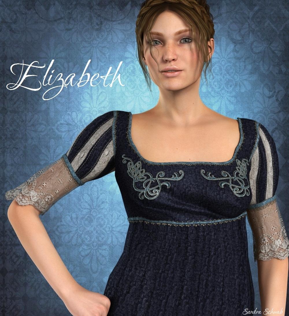 """Elizabeth"" - art by Sandra Schwab"
