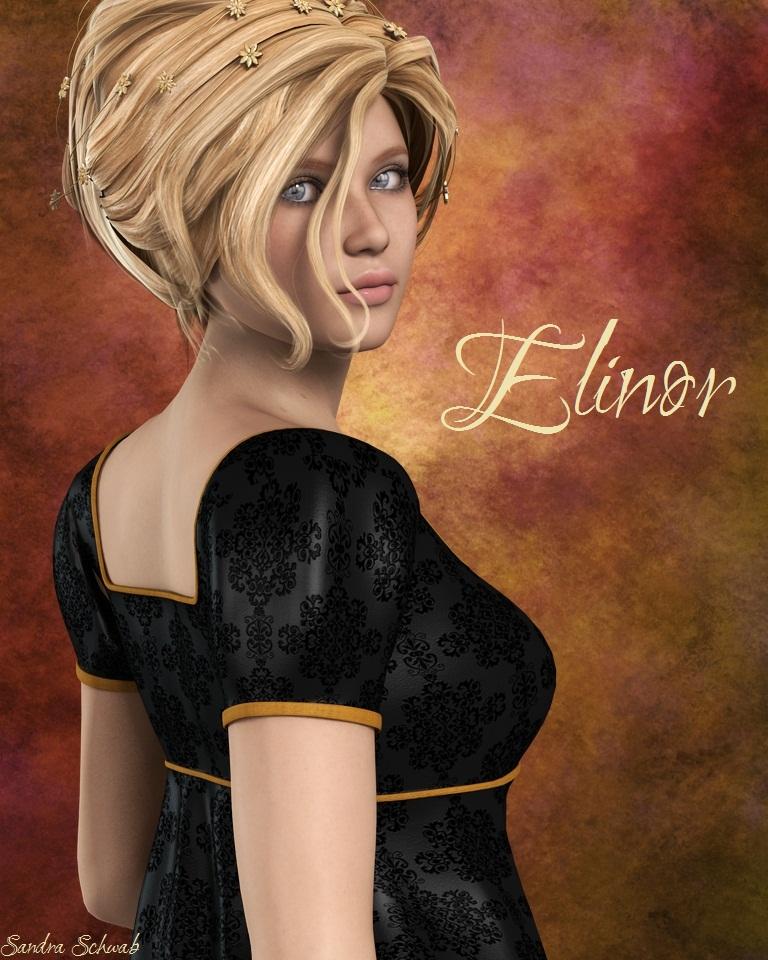 """Elinor"" - art by Sandra Schwab"
