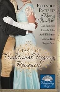 Cover-A Tatse of Traditonal Regency Romances