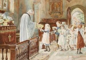 Mothering Sunday-Victorian Church