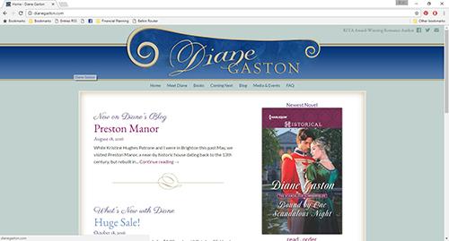 dianegastonwebsite