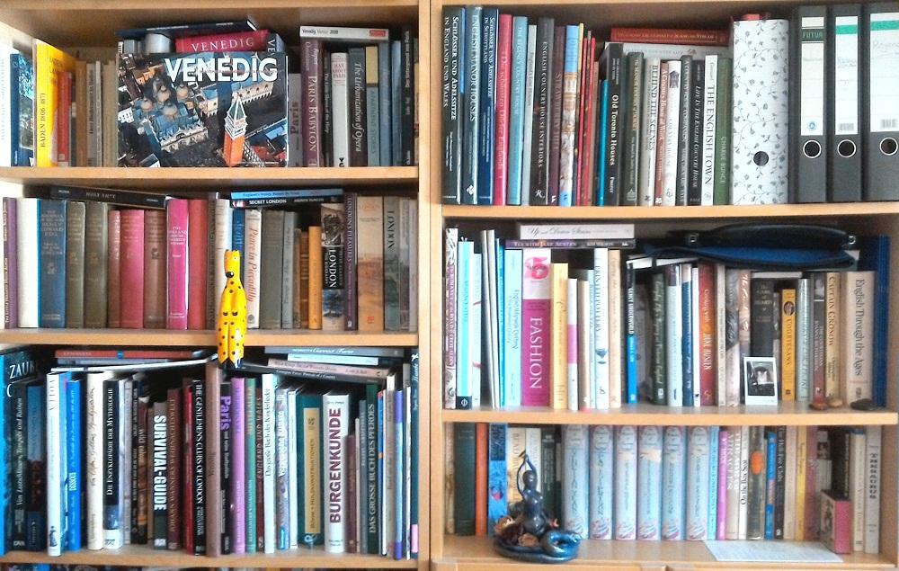 Some of the Bookshelves in Sandra's Study